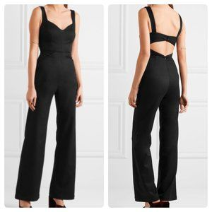 NWT Reformation Cutout Twill Jumpsuit